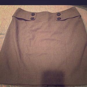 Apt 9 brown skirt size: 14